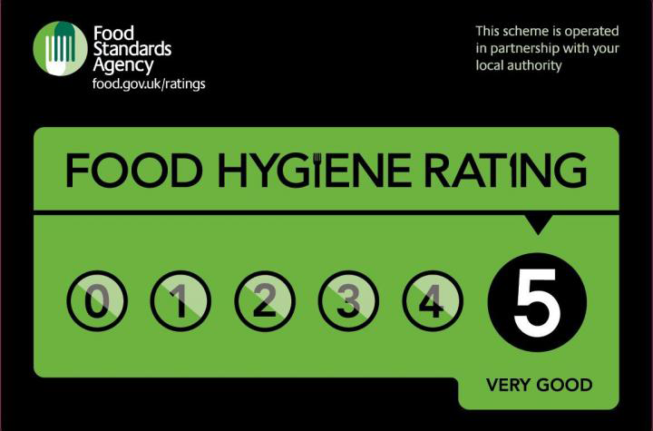 Food Hygene Rating badge